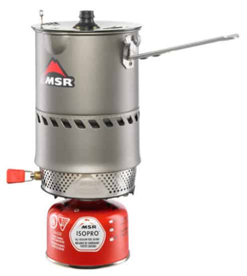 MSR hiking stove review