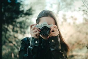 selective focus photography examples